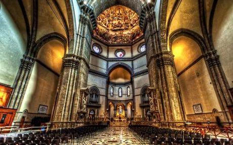 Mai vom nha tho Santa Maria del Fiore- Cong trinh kien truc vi dai - Anh 7