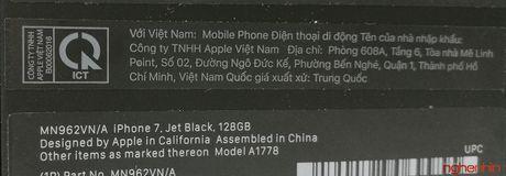 Mo hop iPhone 7 series chinh hang danh cho Viet Nam - Anh 2