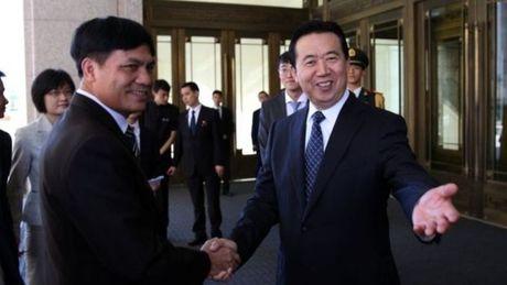 Thu truong Bo Cong an Trung Quoc duoc bau lam lanh dao Interpol - Anh 1