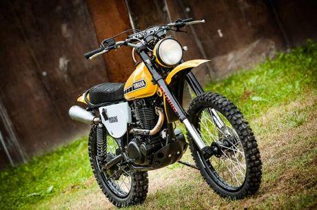 North East Custom hoi sinh Yamaha XT500 - Anh 1