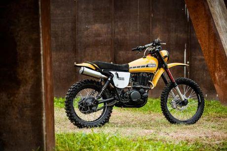 North East Custom hoi sinh Yamaha XT500 - Anh 2