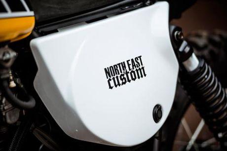 North East Custom hoi sinh Yamaha XT500 - Anh 3