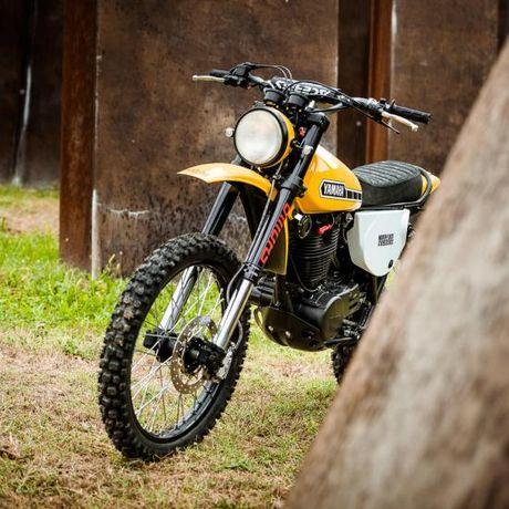 North East Custom hoi sinh Yamaha XT500 - Anh 4