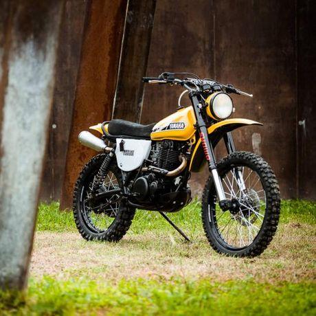 North East Custom hoi sinh Yamaha XT500 - Anh 5