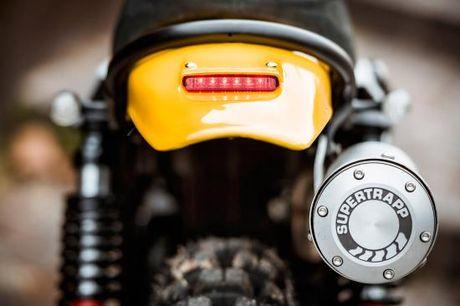 North East Custom hoi sinh Yamaha XT500 - Anh 6