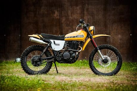 North East Custom hoi sinh Yamaha XT500 - Anh 8