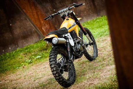 North East Custom hoi sinh Yamaha XT500 - Anh 9