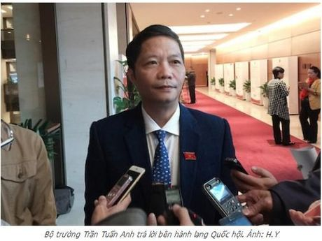 Bo truong Tran Tuan Anh: Co hay khong TPP, Viet Nam van phai ra 'bien lon' - Anh 1