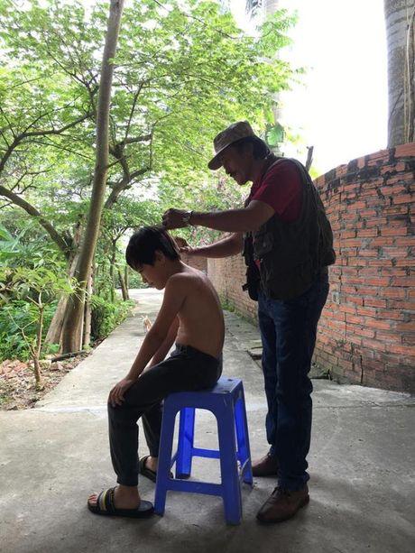 Cuoc song vui thu dien vien cua Giang coi voi 2 con nho - Anh 4