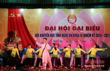 Ong Tran Xuan Bi tai dac cu Chu tich Hoi Khuyen hoc tinh Nghe An - Anh 2