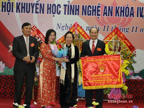 Ong Tran Xuan Bi tai dac cu Chu tich Hoi Khuyen hoc tinh Nghe An - Anh 5