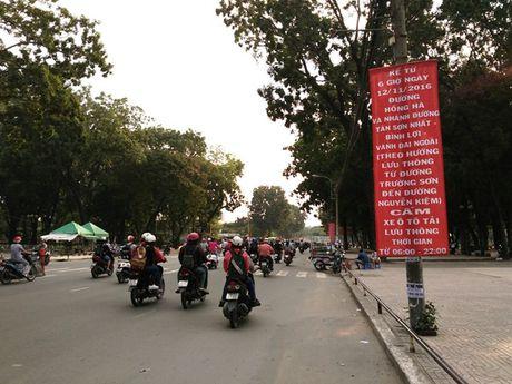 Tu ngay mai (12.11), cam oto tai theo gio quanh san bay Tan Son Nhat - Anh 1