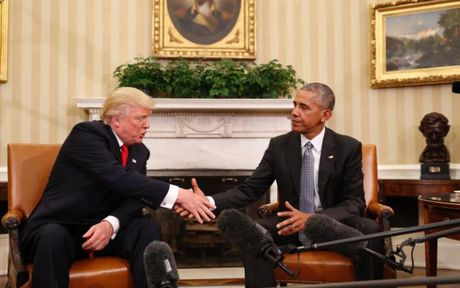 Giai ma ngon ngu co the trong cuoc gap Obama-Trump - Anh 1