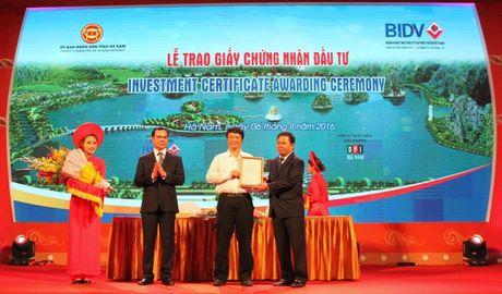 Viglacera khoi cong Khu cong nghiep Dong Van IV - Anh 1