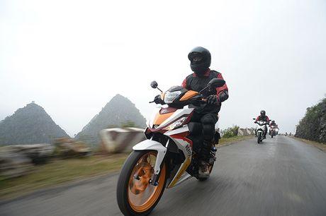 Honda Winner 150 phuot o cuc Bac Ha Giang - Anh 6