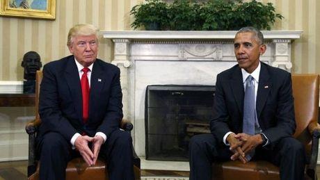 Nhung buc anh 'to' Obama - Trump van 'dong sang di mong' - Anh 1
