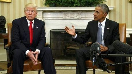 Nhung buc anh 'to' Obama - Trump van 'dong sang di mong' - Anh 2