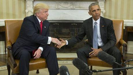 Nhung buc anh 'to' Obama - Trump van 'dong sang di mong' - Anh 3
