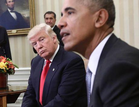 Nhung buc anh 'to' Obama - Trump van 'dong sang di mong' - Anh 4