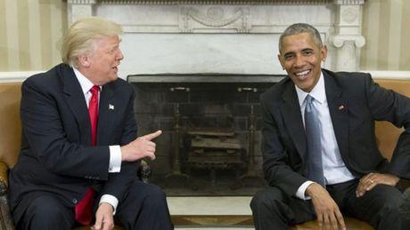 Nhung buc anh 'to' Obama - Trump van 'dong sang di mong' - Anh 5