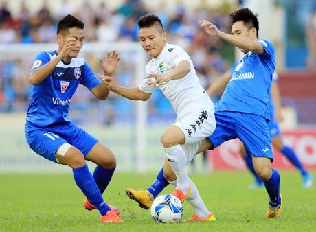 HN.T&T va Than Quang Ninh tranh Sieu cup tai Hang Day - Anh 1