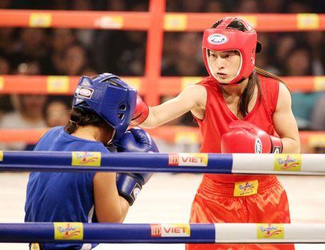 Hoa khoi boxing Le Thi Bang tranh tai tai giai toan quoc - Anh 1