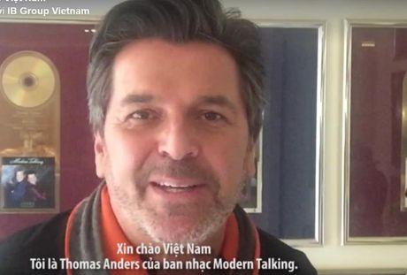Thomas Anders cua nhom Modern Talking tu quay video chao khan gia Viet Nam - Anh 1