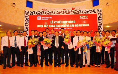 Tap doan Sao Mai bat tay voi Koyo Group lam Nha may dien mat troi 6.000 ty dong - Anh 2