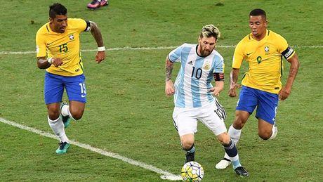 Messi va Argentina 'dinh dop' A quan World Cup? - Anh 1