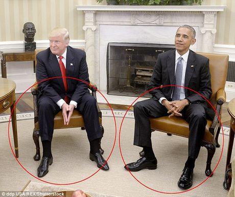 Ong Trump cang thang khi gap Tong thong Obama o Nha Trang - Anh 1