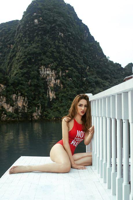 Choang voi so thich di dien nhu di... boi cua Huong Giang idol - Anh 21
