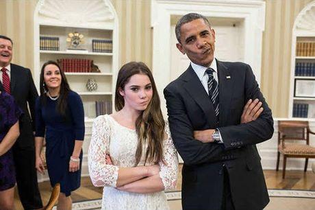 Khoanh khac dep nhat cua Obama suot 8 nam qua - Anh 21