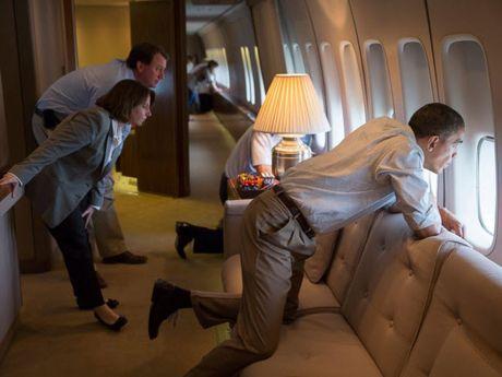 Khoanh khac dep nhat cua Obama suot 8 nam qua - Anh 26