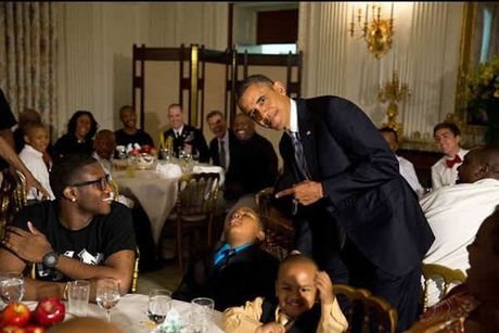 Khoanh khac dep nhat cua Obama suot 8 nam qua - Anh 29