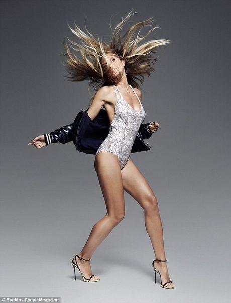 Heidi Klum tai xuat lang mot noi y - Anh 3