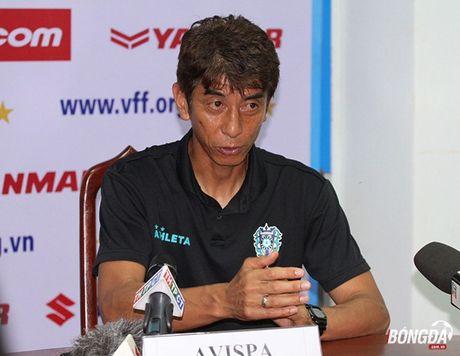 HLV Avispa Fukuoka FC hoi mua tuyen thu Viet Nam - Anh 1