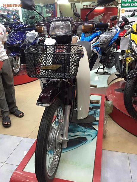 Honda Dream II gia 350 trieu tai Viet Nam la 'hang dung'? - Anh 1