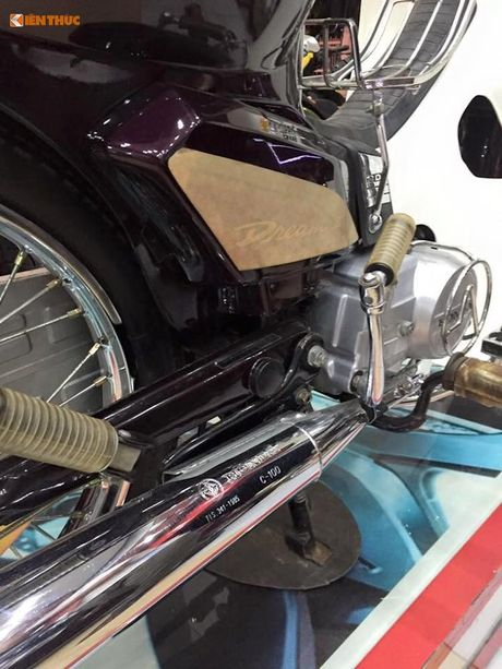 Honda Dream II gia 350 trieu tai Viet Nam la 'hang dung'? - Anh 3