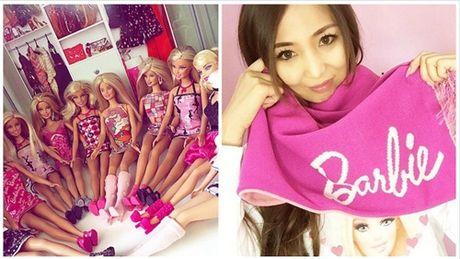 Ngoi nha trang tri ngap bup be Barbie cua mot fan cuong 34 tuoi - Anh 2