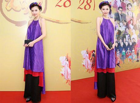 Hoa hau Ngoc Duyen dien ao yem goi cam di su kien - Anh 2