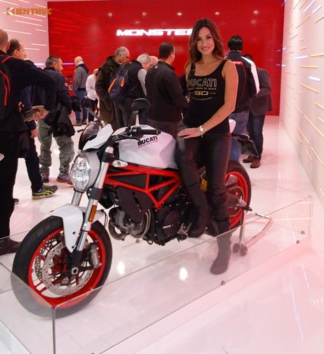 Ducati Monster 797 gia hon 200 trieu tai EICMA 2016 - Anh 1