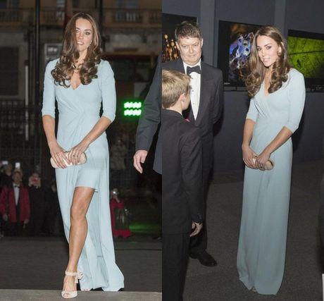 11 mau vay du tiec quyen ru cua cong nuong Kate Middleton - Anh 9