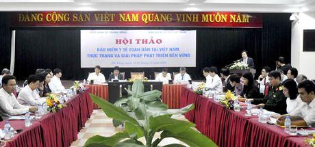 Neu khong co dieu chinh, quy BHYT nguy co mat can doi sau nam 2018 - Anh 1