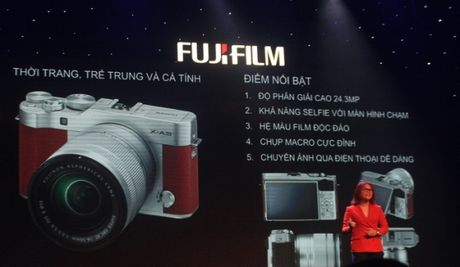 Fujifilm X-A3 thoi trang, ca tinh voi gia ban gan 14 trieu dong - Anh 4