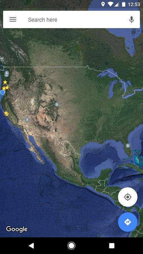 Google Maps thu nghiem 3 tinh nang moi tren phien ban Android - Anh 1