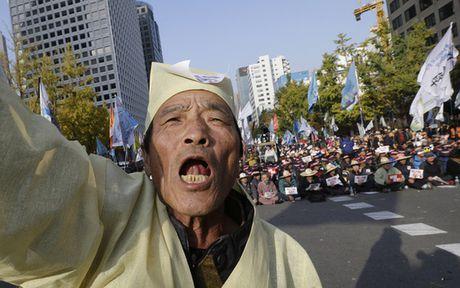 """Han Quoc: """"1 trieu nguoi"""" bieu tinh doi tong thong tu chuc - Anh 6"""