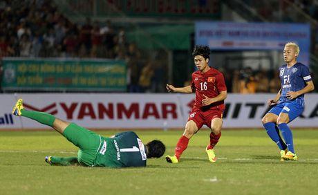 HLV Nhat khen Van Toan, Xuan Truong - Anh 1