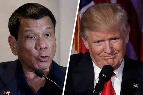 "Tong thong Philippines coi ban than chi la ""phan tu"" so voi ong Trump - Anh 1"