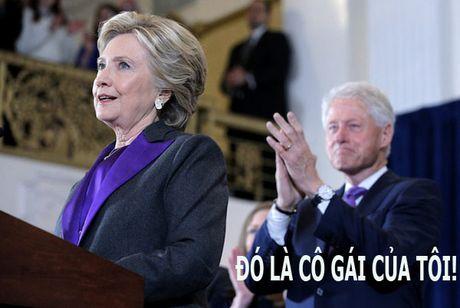 O tuoi xe chieu, Hillary van la 'co gai' nho cua Bill Clinton - Anh 3