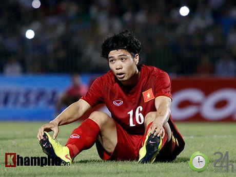 "HLV Huu Thang: ""Toi cho phep Cong Phuong choi ca nhan"" - Anh 1"